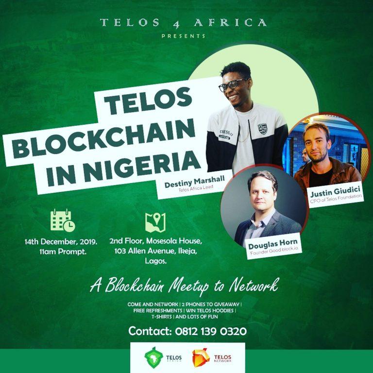 Telos Blockchain Meetup 2019