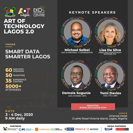 Lagos State, Eko Innovation Centre set to host the second edition of Art of Technology Lagos 2.0